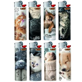 BIC MAXI Feuerzeug PETS HAUSTIERE Limited special Edition J26 Limitiert